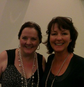 Me and Kelly Hunter at the ARR Awards Dinner