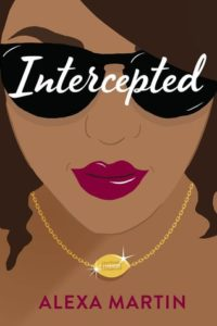 Cartoon style picture of the head and decolletage of a brown-skinned woman wearing sunglasses and a gold football pendant