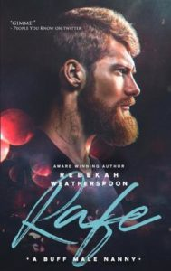 Profile pic, head and shoulders of a red-headed beardy hot guy with a neck tattoo.